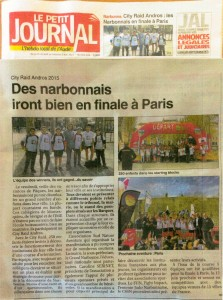 Le Petit Journal de l'Aude-City Raid Andros